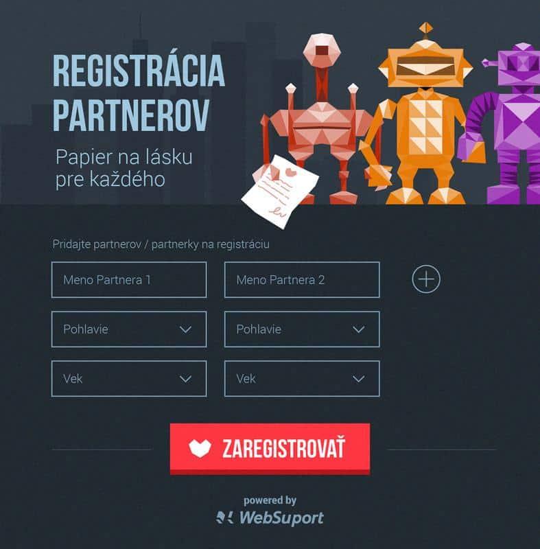 registrácia partnerov